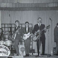 Peter Koelewijn met The Hurricane Strings in Hotel De Kroon - Gennep 1962