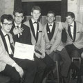 The Hurricane Rollers - De 1e bezetting in cafetaria Hoki Poki te Vught eind 1962