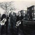 De oprichters van The Black Albinos (1960) vlnr: Joop van Heusden, Joop Jonkers en Hans Schoots