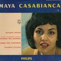 """Origineel """"Guitare-Tango"""" van de Marokaans-Joodse zangeres Maya Casabianca"""