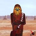 Lo quiero. A Chewbacca. Sí. Lo reconozco. Más apuesto no se puede ser.