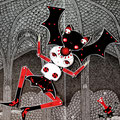 Nebula y su bat-pelo Vlada