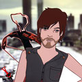 "Tributo al personaje Daryl Dixon, interpretado por Norman Reedus, de la serie de TV ""The walking dead"". Como lo maten, no me hago responsable de mis actos."