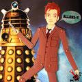 """Este es mi pequeño tributo a la serie de televisión de la BBC """"Doctor Who"""", concretamente al décimo Doctor, que es mi Doctor (de cabecera), interpretado por David Tennant."""