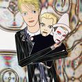 Un torpe homenaje a mi amado David Bowie y su universo, al que llevo en el corazón.