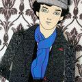 """Este es un pequeño homenaje a """"Sherlock"""", la entretenidísima serie de la BBC; interpretado por Benedict Cumberbatch."""
