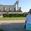 Xanten: Hafentempel  im Archäolog. Park Xanten
