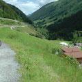 Blick ins noch sehr kleine Rheintal