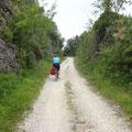 Auf der Parenzana in Kroatien