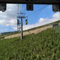 Mit der Seilbahn und dem Fahrrad zum Niederwalddenkmal
