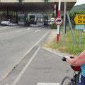 Grenzübergang nach Kroatien