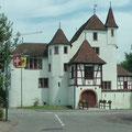 Auch ein kleines Schloss gibt es in Pratteln
