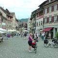 Sehr bunt: Das Stadtbild von Stein am Rhein