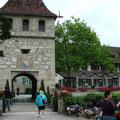 Schloss Laufen: Zutritt zum Rheinfall auf der Schweizer Seite