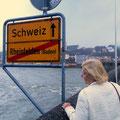 Rheinfelden hat einen deutschen und einen Schweizer Teil.