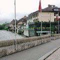 """Rheinfelden: Wir wohnen auf der Schweizer Seite im Hotel """"Schiff am Rhein"""""""