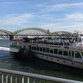 Köln: Hohenzollernbrücke