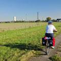 Viel Natur am Niederrhein - und dazwischen ein Kraftwerk