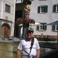 Verschnaufpause an Europas größtem Holzbrunnen