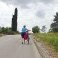 Unterwegs nach Porec