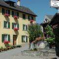 Im Weindorf Jenins