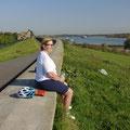 Pause bei Büderich (Wesel)