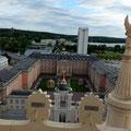 Blick von der Nikolaikirche ins Stadtschloss