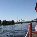Eine Floßfahrt auf den Havelseen