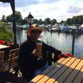 Unser Restaurant-Tipp: Imbiss auf dem CP Riegelspitze, direkt am Wasser