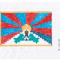 Tibetische Flagge - 2008