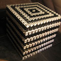 14 198 Steine - weltweit größter Dominocube