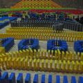 Februar 2008 - erstes Projekt mit 10 000 Steinen