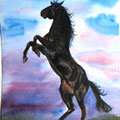 "Серия ""Кони"" Акварель 21х30 см     Series ""Horses"" Water color of 21х30 cm"