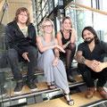 Jeanette Biedermann und ihre Band Ewig