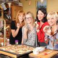 """die """"In aller Freundschaft""""-Stars Annika Ernst, Cheryl Shepard und Andrera Kathrin Loewig"""