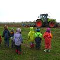 Ein Traktor - eine Attraktion!