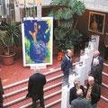 Malerei und Bildhauerei im Rathaus