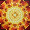 Sonnenkraft, Acryl auf Leinwand 70 x 70 cm, € 350,- / Original verkauft!!