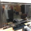 未使用に近い液晶テレビ
