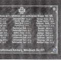 Kriegerdenkmal Trattenbach 9. Oktober 1921