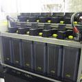 発電機起動用バッテリー   ベント形据置蓄電池と言います