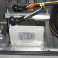 こちらは触媒栓がない制御弁形の蓄電池  交換は期待寿命を目安にします