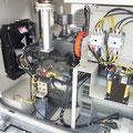 非常用予備発電装置  内部の様子