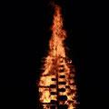 Der Meiler brennt