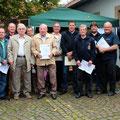 25-jährige Mitglieder im Floriansverein