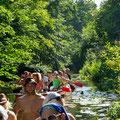 Zehner Kanus-im Hochsommer durch die Köpenicker Kanäle paddeln
