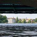 Müggelheimer Damm Brücke- Mit dem Kanu hindurch paddeln