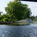 Baumgarteninsel Köpenick-Paddeln auf der Alten Spree
