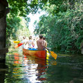 Paddeln im Südosten Berlins-Konzentration im Zehner Kanu