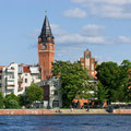 Rathaus Köpenick-Ufer Promenade Luisenhain